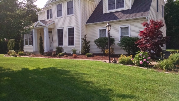 Capital District Landscaping Patio and Walkway Installation Albany Clifton Park Troy Landscape Maintenance